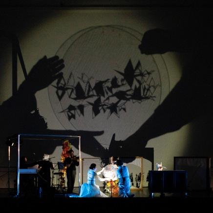© Salzburger Festspiele / Erika Mayer, v.l.n.r. Konstantin Dupelius, Gustavo Strauß, Kanako Shimada, Katharina Halus